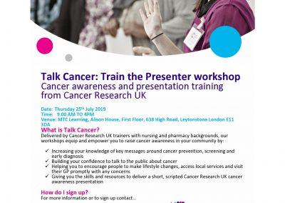 Cancer Workshops