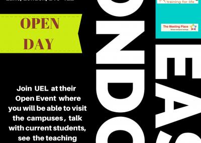 Open Day University of East London