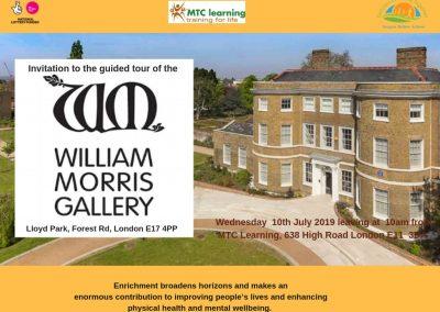 William Morris Gallery Trip